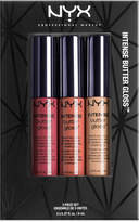 NYX 3-Pc. Intense Butter Gloss Set - Toasted, Chocolate & Cookie Butter