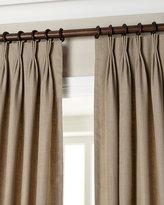"Eastern Accents Each 20""W x 96""L Pinch-Pleat Linen Curtain"