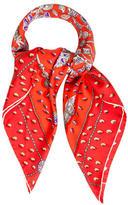 Hermes Tresors Retrouves Silk Scarf