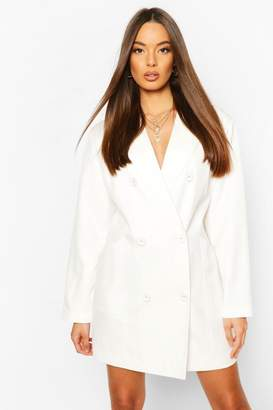 boohoo Oversized Masculine Fit Blazer Dress