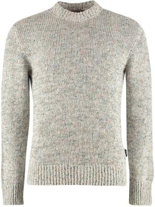 Ermenegildo Zegna Long-sleeved Crew-neck Sweater