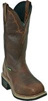 """John Deere Men's Boots 11"""" Western Pull-On Steel Toe 5375 Boot"""