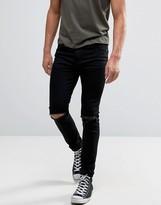Kiomi Skinny Jeans With Rips