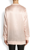 Givenchy Bambi silk-satin sweatshirt