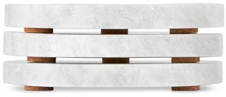 Saintwoods SSENSE Exclusive Grey Marble Coaster Set
