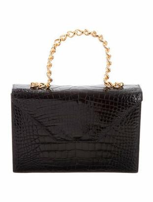 Lana Marks Alligator Handle Bag Lana