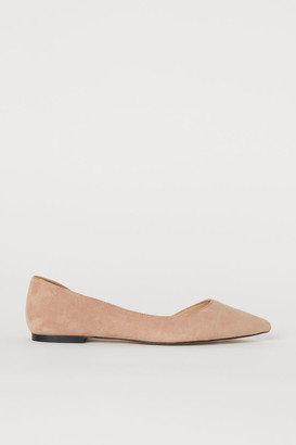 H&M Pointed Flats - Beige