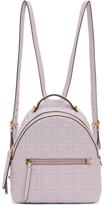 Fendi Purple Mini Forever Backpack