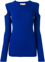 Erika Cavallini slit sleeves top