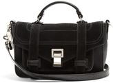 Proenza Schouler PS1 Tiny suede cross-body bag