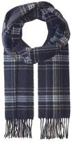 Eton Plaid Wool Scarf Scarves