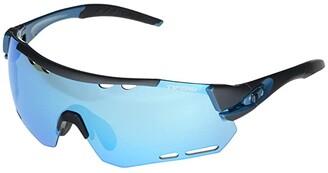 Tifosi Optics Alliant (Gunmetal/Blue Frame Clarion Blue/AC Red/Clear Lenses) Sport Sunglasses