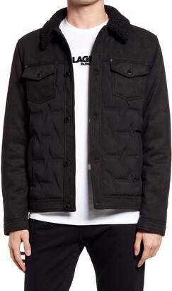 Karl Lagerfeld Paris Trucker Jacket