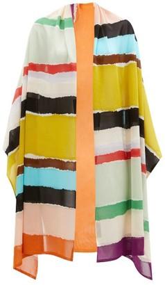 Missoni Stripe-knitted Scarf - Multi