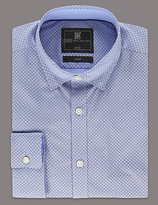 Limited Edition Slim Fit Long Sleeve Printed Shirt