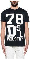 Diesel Black Diego Print Jersey T-shirt