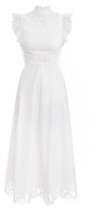Zimmermann Peggy Embroidered Long Dress