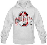YQUEMWY YQUE Men's Ohio O State University Camouflage Hoodies Hoodie Size XL