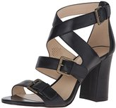Nine West Women's Braylee Leather Dress Sandal