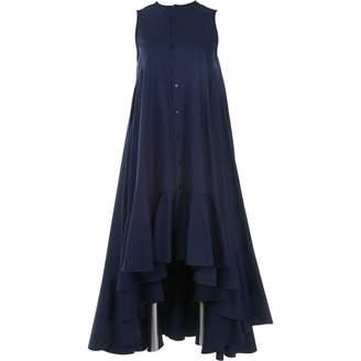 Palmer Harding Blue Cotton Dress for Women