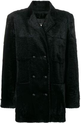 Fendi Pre Owned teddy coat