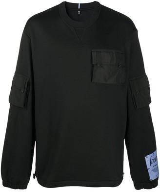 McQ Sid pocket sweatshirt