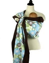 Snuggy Baby Prestige Ring Sling Baby Carrier Spa Fizz.
