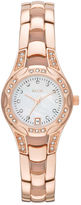 JCPenney RELIC Relic Charlotte Womens Stainless Steel Rose Gold-Tone Watch ZR12067