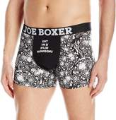 Joe Boxer Men's My Selfie Underwear Novelty Fitted Boxer