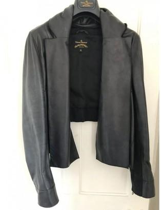 Vivienne Westwood Black Leather Jackets