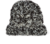 Missoni Chunky-knit wool and cashmere-blend beanie hat