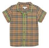 Burberry Little Boy's & Boy's Carney Button-Down Cotton Shirt