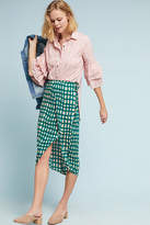 Plenty by Tracy Reese Checked Wrap Skirt