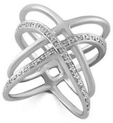 Effy 0.13K Diamond, Sterling Silver Ring