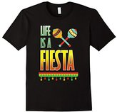 Women's Life is a Fiesta Graphic Mexican Party T-shirt XL