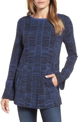 Nic+Zoe Symmetry Cotton Blend Sweater (Regular & Petite)