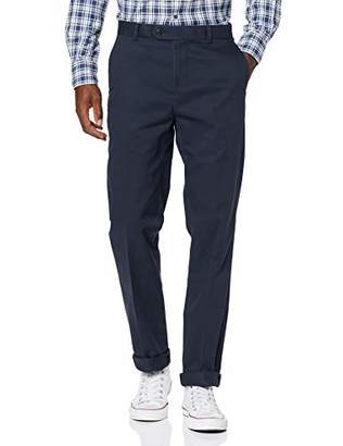 Brooks Brothers Men's Stretch Chino Milano New Trouser,(Size: 30 32)