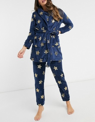 Brave Soul stars dressing gown