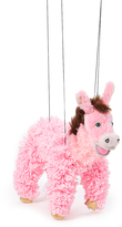 Pink Donkey Puppet