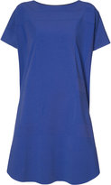 Issey Miyake oversized T-shirt dress - women - Cotton/Nylon/Polyurethane - 2