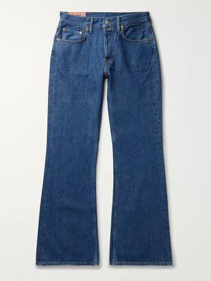 Acne Studios Denim Bootcut Jeans - Men - Blue