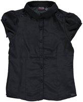 "Nautica Big Girls' ""Princess Seamed"" Button-Down Shirt"