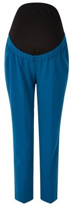 Dorothy Perkins Womens Dp Maternity Sapphire Overbump Ankle Grazer Trousers