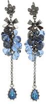 Betsey Johnson Mid Romantic Flower Bow Earrings
