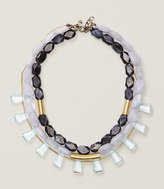 LOFT Glossy Multistrand Bar Necklace