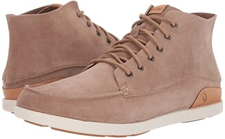 OluKai Nalukai Kala Boot (Sand/Bone) Men's Shoes