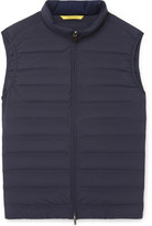 Canali Quilted Shell Down Gilet