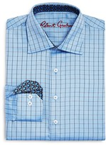 Robert Graham Boys' Windowpane Plaid Button Down Dress Shirt - Sizes S-XL