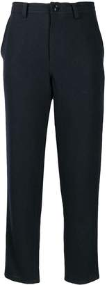 Y's Cropped Slim Fit Trousers