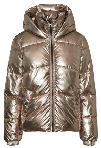 Vero Moda Short Padded Jacket Silver - XS